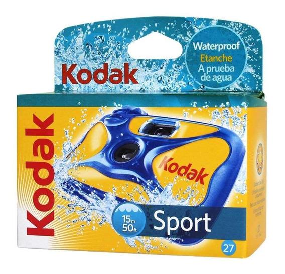 Câmera Descartável Kodak Sport Aquática A Prova D