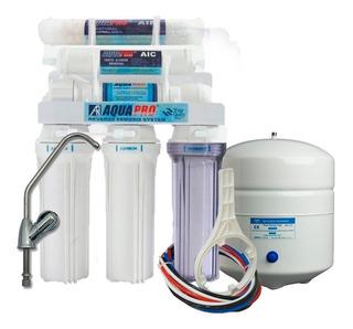 Filtro De Osmosis Inversa Aquapro 6 Etapa 75gpd Sin Bomba