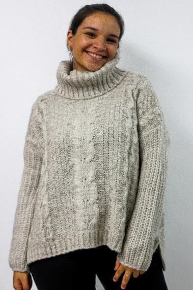 Sweater Polera Lana Premium Abrigo Otoño Invierno