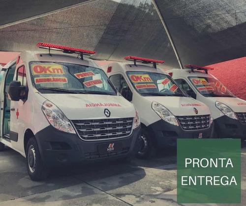 Imagem 1 de 14 de Renault Master Ambulancia L2h2 Uti Com Pack Conf.