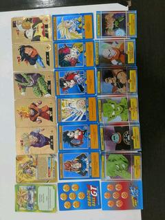 145 Cartas Dragón Ball Z Serie Dorada 1 Y 2, Kai Y Gt