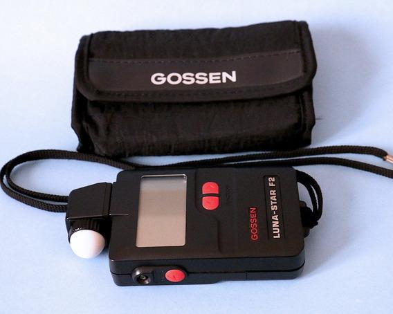 Fotômetro Flash Meter Gossen Luna Starf2 S.novo Desc.a Vista