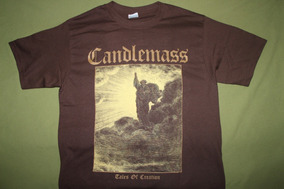 Gusanobass Playera Rock Metal Candlemass Tales Of Creation L