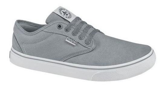 Tenis Casuales Urban Shoes 180 D160688 Gris Msi Hombre