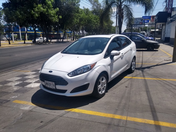 Ford Fiesta Se 2016 Blanco