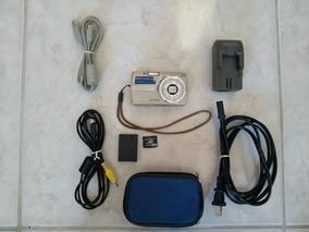 Câmera Digital Compacta Antiga Olympus 8.0 Megapixel