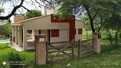 Alquilo Chalet Con Pileta, Villa Los Aromos