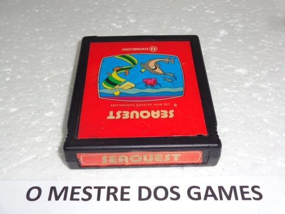 Seaquest Da Marca Dynacom Para Atari 2600 Confira E Leia Tud