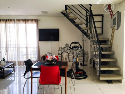 Apartamento Duplex Residencial À Venda, Vila Madalena, São Paulo. - Ad0099