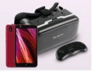 Bundle Smartphone+lentes Vr Bleck Bleck Bn-00004 - 5 Pulgad