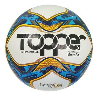 Bola Campo Topper Velocity Pró Samba - Profissional