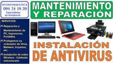 Reparación Y Servicio Tecnico Pc Notebook Impresoras Redes.