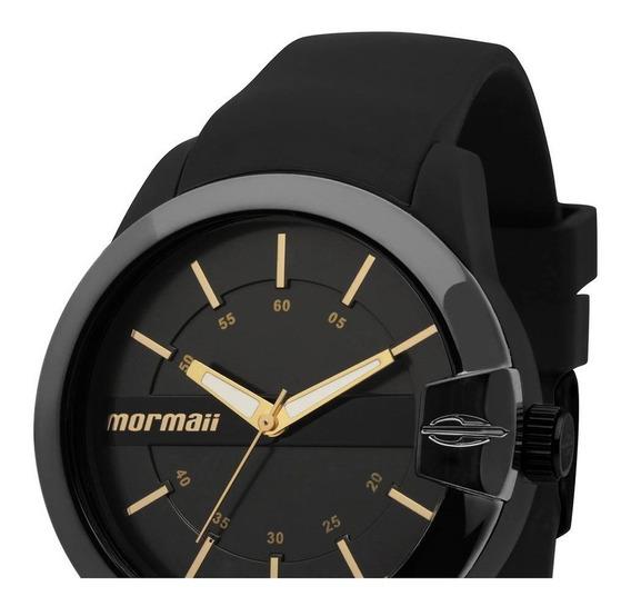 Relógio Mormaii Unissex Preto Maui Mopc21jah/8p Lançamento