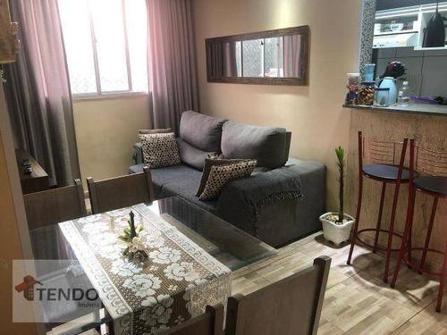 Imagem 1 de 15 de Apartamento Com 2 Dormitórios À Venda, 48 M² Por R$ 230.000,00 - Parque São Vicente - Mauá/sp - Ap2182