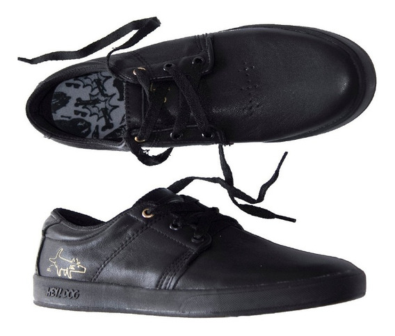 Tenis Hey Dog Skate Terry Solid All Black