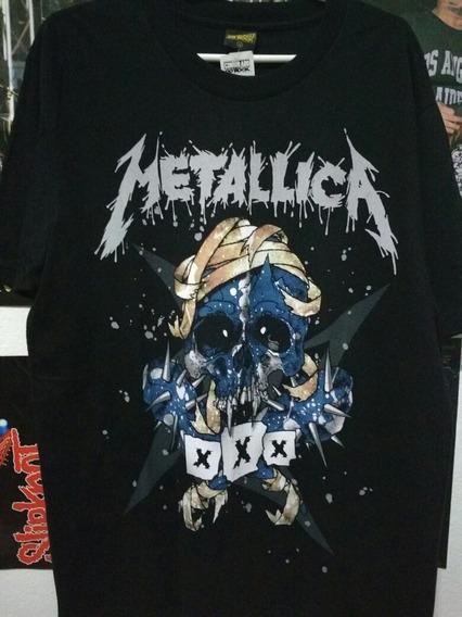 Metallica Camiseta Xxx Oficial Consulado