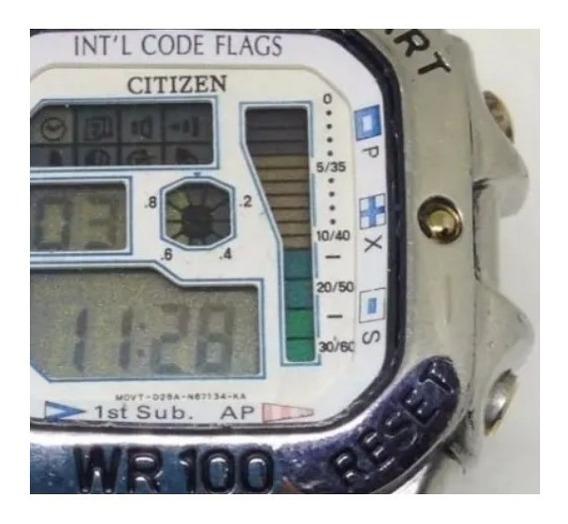 Relógio De Pulso Citizen Wr 100m Masculino U04693 Webclock