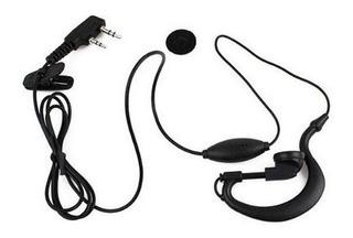 Manos Libres Auricular Negro Radio Baofeng O Kenwood