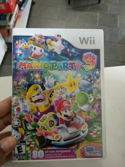 Game Mario Party 9 Nintendo Wii Original