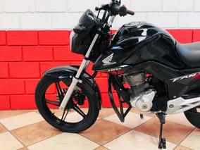 Honda Cg 160 Fan - 2018 - Preta - Km 16.000 - Financiamos