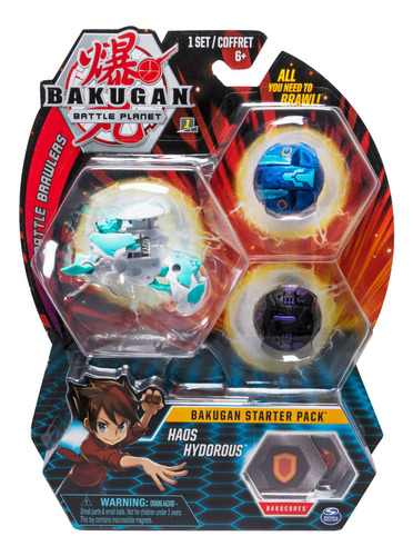 Bakugan Set De Inicio Spin Master Toys - 6045144