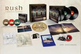 Rush - A Farewell To Kings 40th Anniversary 3cd Blu-ray 4lp