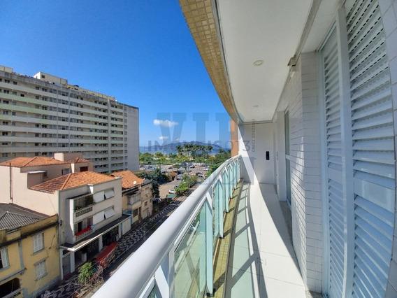 Apartamento Para Venda Com 1 Suíte No Greenpark - José Menino Em Santos - Ap00341 - 68318539