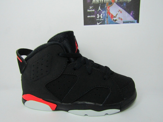 Air Jordan Vi Infrared Ps Kids (15 Cm) Astroboyshop