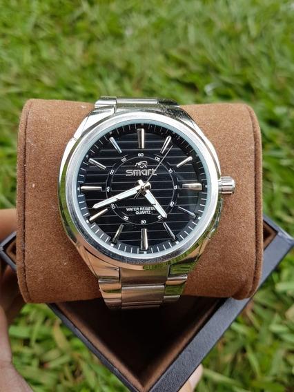 Relógio Masculino/homem Prateado Original Aprova D