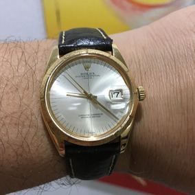 Rolex Oyster Peretual Date Ouro Maciço 18kl Lindíssimo Rolex