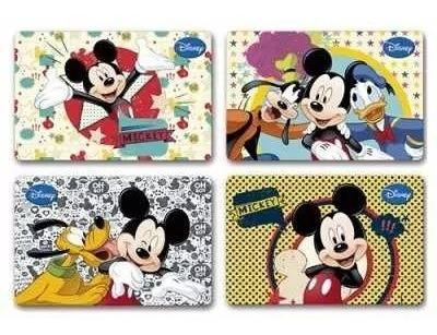 Jogo Americano Infantil Mickey 12 Peças Disney Gedex