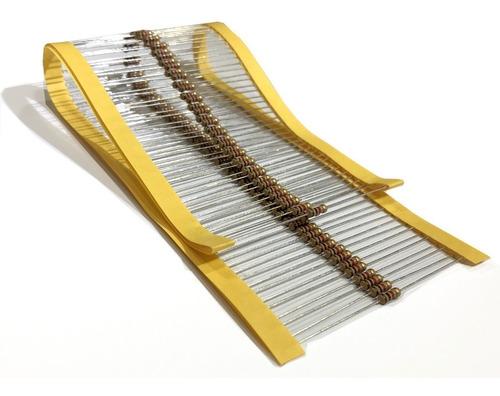 Imagem 1 de 3 de Resistor Cr25 6m8 1/4w 5% Caixa Com 5.000 Peças