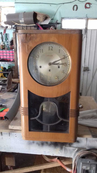 Reloj De Pared De Péndulo Antiguo Marca Ontario French