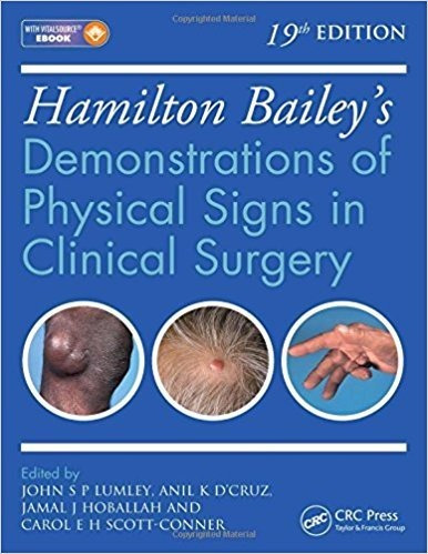 Demonstrations Of Physical Signs In Clinical Surgery .. Eb.