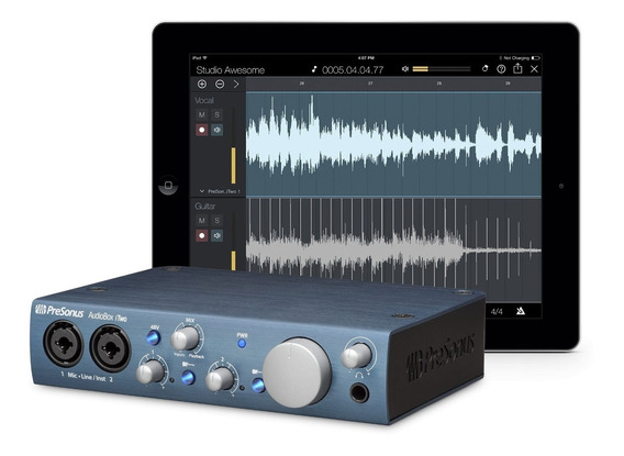 Interface Presonus Audiobox Itwo Usb Original + Brindes