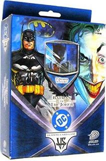 Deck Vs System Batman Vs Joker Card Game Dc Marvel