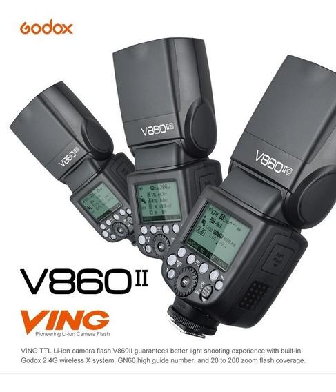 Kit Godox V860ii Pra Nikon