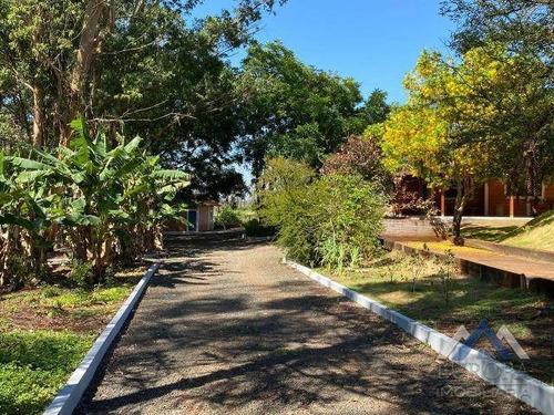 Chácara Com 4 Dormitórios À Venda, 24200 M² Por R$ 1.800.000,00 - Gleba Palhano - Londrina/pr - Ch0160