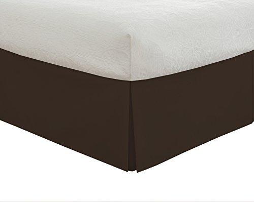 Faldón Para Cama De Microfibra 35.56cm Queen Chocolate