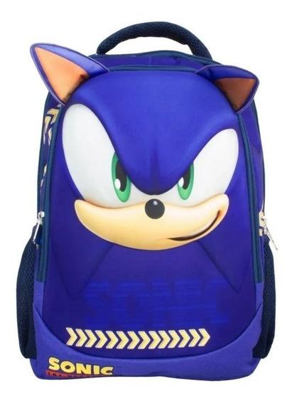 Mochila Sonic Primaria Backpack Tz203