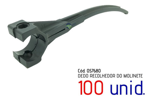 Imagem 1 de 9 de Cj Dedo Recolhedor Do Molinete Cod. 057680 - 100 Unidade