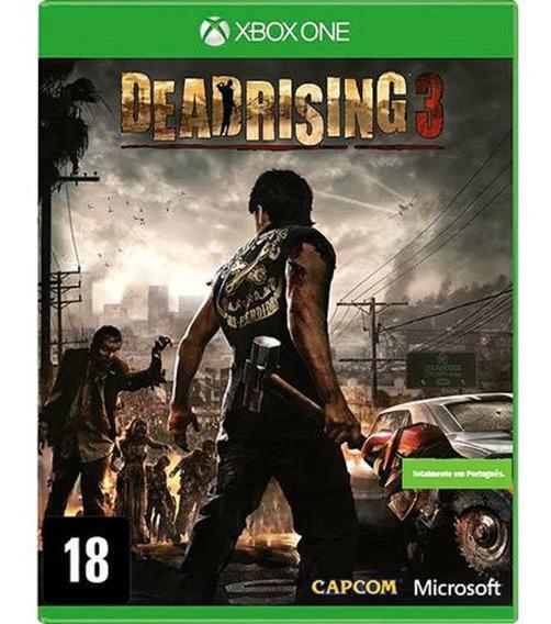 Dead Rising 3 Xbox One Game Lacrado Original Jogo Ação Zumbi
