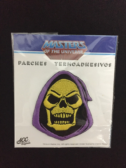 Parche Termo Transferible Skeletor Accoriginals