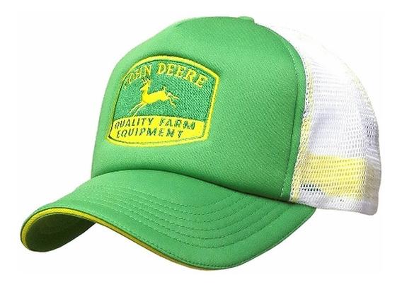 Cachucha John Deere 100% Original Gorra Malla Trucke Lp64484
