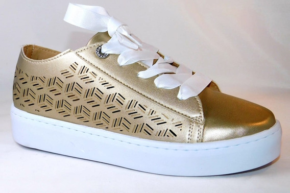 Tenis Lazer Oro