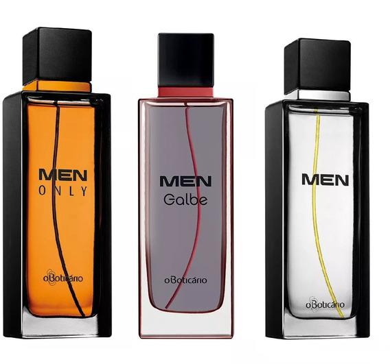 Men Only Colônia + Men Galbe + Men - O Boticário Masculino