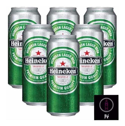 Cerveza Heineken Lata  473 Cc