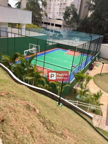 Apartamento Com 2 Dormitórios À Venda, 49 M²  - Morumbi - São Paulo/sp - Ap28044