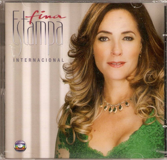 Cd Fina Estampa - Trilha Sonora Internacional - Novo***