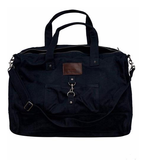 Bolsa Abercrombie 100% Original E Importada Azul Escura
